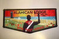 OA KLAHICAN LODGE 331 CAPE FEAR AREA COUNCIL PATCH 2014 BLACK HOST SERVICE FLAP