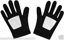 The Ultimate Spider-Man Black Suited Classic Child Gloves New Rubies 35632