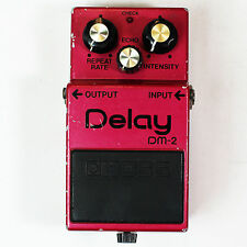 Boss DM-2 Analog Delay MN3205 Guitar Effect Pedal Made in JAPAN VINTAGE 217400