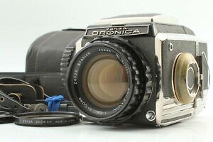 Testé [ EXC+ 5 Avec / Étui ] Zenza Bronica S2 6x6 Caméra Zenzanon 100mm F/2.8