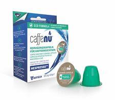 CaffeNu® Kapseln WELTNEUHEIT!! 5 x Reinigungs Kapseln für Nespresso ® Maschinen