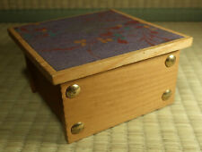 Small Wooden Box / Japanese / Dated 1979