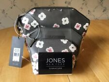 Jones New York Signature Hexagon Zip Beauty Cosmetic Bags Set of 3 Perfect Gift!