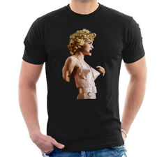 Madonna En Rosa corsé de sostén de cono rubia ambición Tour 1990 Para hombres Camiseta