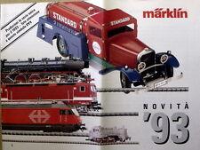 Catalogo MARKLIN 1993 Novità News - ITA   [G99A]