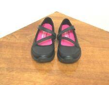 Sketchers Girls Size 12 Black Mary Jane Memory Foam Comfort Shoes NWOT
