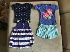 Toddler Girls Clothes/Sz 3T Small Lot Of 4 Pieces Carters