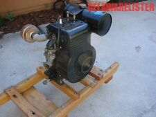 Vintage Restored Briggs and Stratton FB Engine w/skid/Dolly Stationary Hit/Miss
