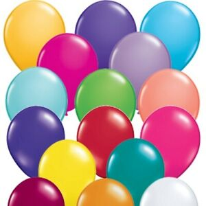 """Qualatex 5"""" or 11"""" Latex Decorator Balloons Pack of 5,10, 25 or 50"""