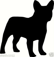 french bulldog , Car, van Sticker, silhouette. Great Gift For Dog Lover,