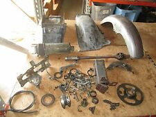 1982 Honda CX500 Tool Box Fender Inner Rear Fender Final Drive Shaft Parts Lot