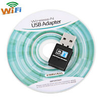 300M Wifi Mini USB Adapter Wireless Network Dongle 802.11b/g/n 300Mbps Lan Card