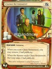 Android Netrunner LCG - 1x Clone Retirement #032 - sistema Crash Corporation