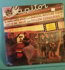 The Beatles REEL Music LP Capitol 1982 SV-12199-1 Vinyl Album + Program