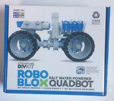 Robo Blox Diy Salt Water Powered Quadbot Clean Energy Vehicle