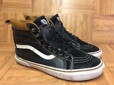 RARE🔥 VANS Sk8-Hi MTE Scotchgard 3M Hiker Black Leather Sz 8.5 Men's Shoes Hike