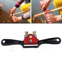 LD_ 9'' METAL WOODWORKING BLADE SPOKE SHAVE MANUAL PLANER DEBURRING HAND TOOL