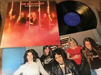 THE RUNAWAYS Queens Of Noise JAPAN LP RJ-7209 w/POSTER INSERT Cherie Currie
