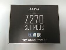New MSI Intel Z270 SLI PLUS LGA 1151 ATX Motherboard