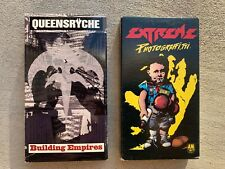 Vhs Lot - Queensryche Building Empires - Extreme Photograffitti music videos