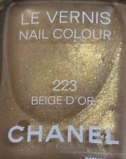 chanel nail polish 223 Beige d'Or rare limited edition