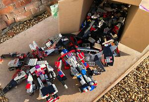 Transformers Optimus Prime Lego Toys Bundle Figures
