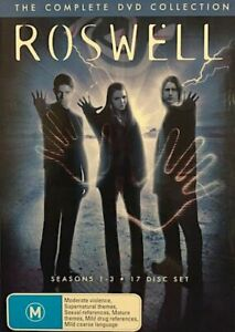 ROSWELL The Complete Series : Season 1-3 : NEW DVD Box Set