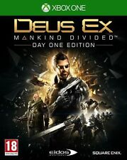 Deus EX Mankind Divided Day One Edition Xbox One Square Enix