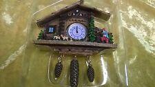 Miniatur Kuckucksuhr Magnet Schwarzwald Uhr Geschenk Souvenir Digitaluhr Jäger