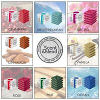 Highly Scented WAX MELTS Fragrance Cubes Oil Burner AROMA Perfume Tarts Snap Bar
