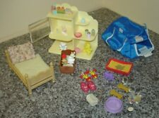 large bundle of old Sylvanian  Familes accessories some rare all  good condition