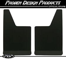 Ford F-150 RAPTOR SVT, F-250 Black Mud Flaps, PDP MUDFLAPS PLAIN_ BLACK FULL (4)