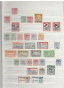 Bahamas Mint or used collection on 3 stocksheets, values to 3/-, 5/-, 10/-