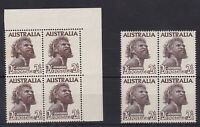 APD134) Australia 1965 2/6d Aborigine Emergency Printing in mint unhinged
