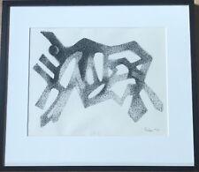 """Henry Edion (1905-1987) """"Bison"""" ink 1960"""
