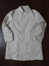 Vintage London Fog Trench Rain Coat w Sherpa Zip Out Liner Size 42L Made In USA