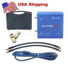 miniVNA Tiny 1M-3GHz Vector VHF/UHF/NFC/RFID RF Antenna Network Analyzer US