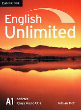 Cambridge ENGLISH UNLIMITED A1 STARTER Class Audio CDs (2) @NEW@