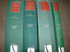 HISTORY OF CHEMISTRY J.R. PARTINGTON VOL. 1 PART 1, VOL. 2, VOL. 3 & VOL. 4