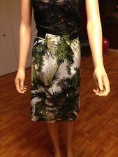 WORTHINGTON coconut Palm Print New Woman Skirts Sz . 8