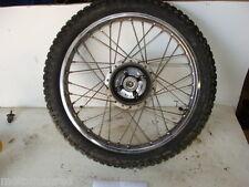"""76 Suzuki CCI TS75 75 77 TM? TC? TS 75cc FRONT WHEEL RIM TIRE 2.0 - 16"""""""