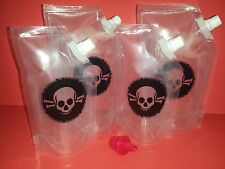 Poison Pack Plastic Flask 4 multi pack  Cruises, Runners, Rum, Events, Concerts
