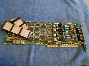 DIALOGIC D/41E 4-PORT ISA ANALOG VOICE / FAX CARD - 85-0552-002 (USED)