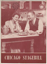 """Shirley Booth """"Come Back, Little Sheba"""" Chicago Playbill  1950 William Inge"""