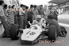 Jo Schlesser HONDA RA302 FRENCH GRAND PRIX 1968 PHOTO 1