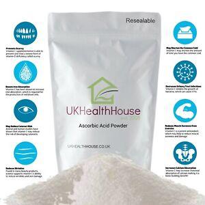 100% Pure Ascorbic Acid - Vitamin C Powder - Anti Oxidant - Food Grade