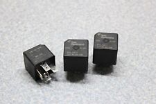 3x Tyco Automotive Relay 4 Pin SPDT QC 40A 30A 12VDC VF4A-15F11 Plug in Power
