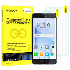 2 Pack [Japan Glass] 0.26mm Tempered Glass Screen Protector for Huawei Honor 8