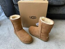 UGG Classic short chestnut boots, UK size 6.5,EUR size 39