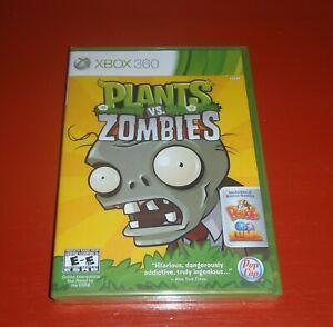 Plants vs. Zombies (Microsoft Xbox 360, 2010) -New